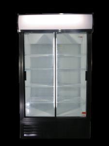 Double Sliding Door Beverage Cooler 748L